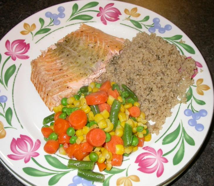 salmon-served