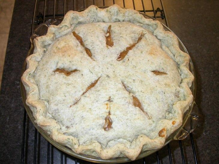 Beef Pot Pie - Baked