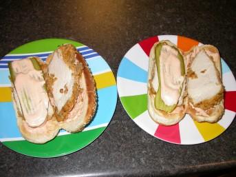 Chicken Strip Sandwiches - Assembly 3